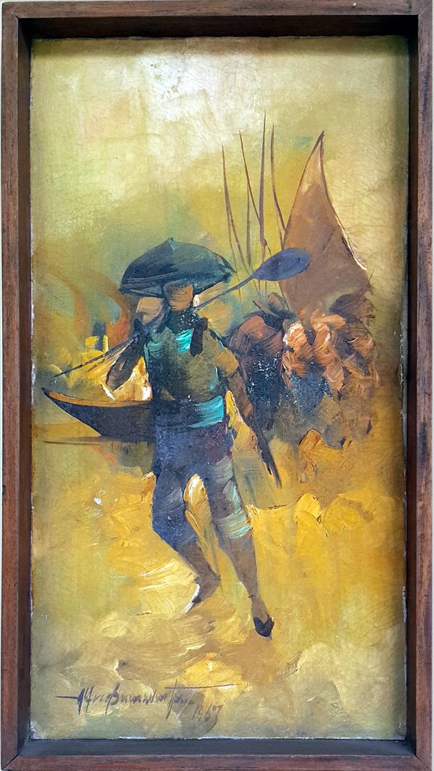 1967 Cesar or Teodoro Jr Buenaventura - Fishermen