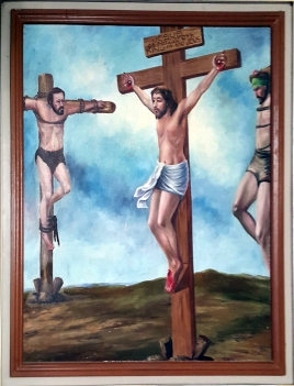 2003 Jessie C. Lores - Stations of the Cross X: The Good Criminal