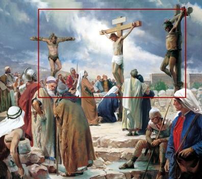 1963-1980s Joseph Harry Anderson (1906–1996) - The Crucifixion