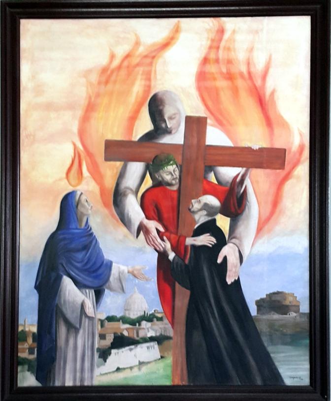 1991 Timoteo Jose M. Ofrasio SJ - 1537 Vision at La Storta
