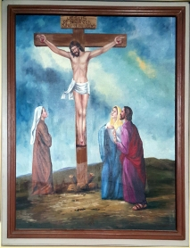 2003 Jessie C. Lores - Stations of the Cross XI: Mary and John