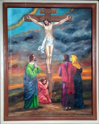 2003 Jessie C. Lores - Stations of the Cross XII: Jesus Dies on the Cross