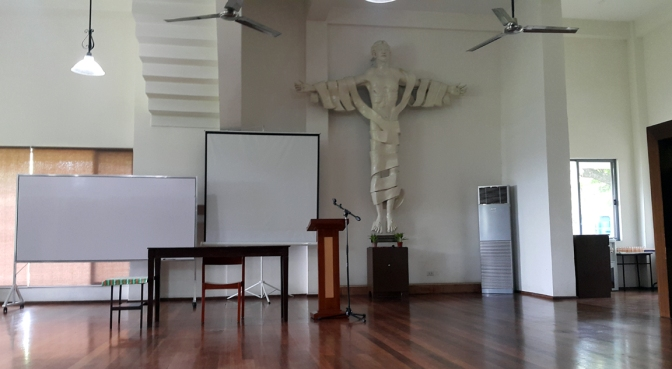 2012 Richie Fernando Hall, Blessed peter Faber Wing