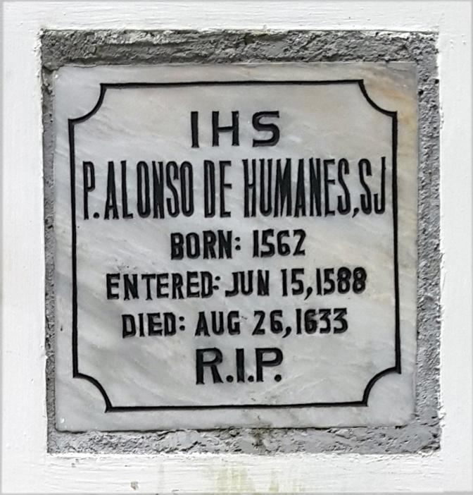 1633 P. Alonso de Humanes SJ (1562-1633)