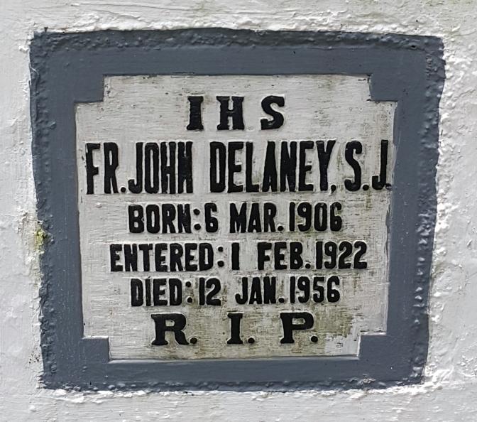 1956 Fr. John Delaney SJ (1906-1956)