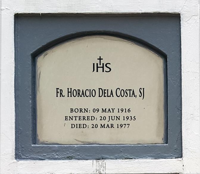 1977 Fr. Horacio Dela Costa SJ (1916-1977)