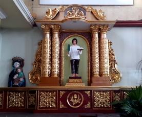 2007 San Bartolome Parish, Left Transept: San Pedro Calungsod