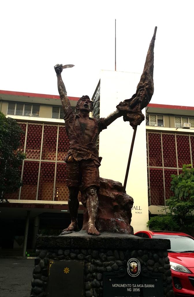 1911 Ramon Lazaro Martiniez - Monumento sa mga Bayani ng 1896, Vinzons Hall, University of the Philippines