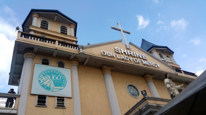 1856 Diocesan Shrine of Our Lady of Mercy, Quirino Highway Highway