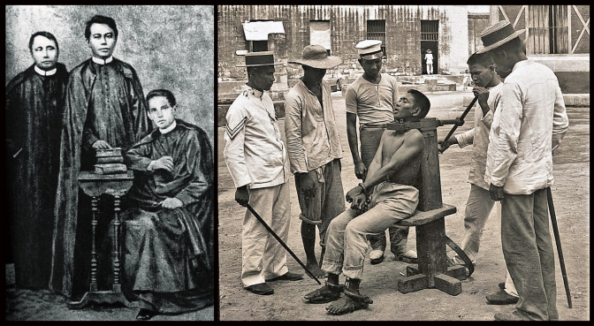 1872 Gomburza Priests, and 1901 Garrote Exceution in Manila