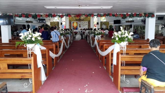 1981-1986 Banal na Sakramento Parish, Altar & Nave