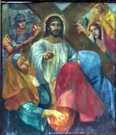 1986 Antonio Ko Jr - Via Crucis VIII: Christ meets the Women of Jerusalem