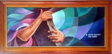 1997 Pancho Piano - Via Crucis II: Jesus receives the Cross