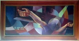 1997 Pancho Piano - Via Crucis XII: Jesus dies on the Cross