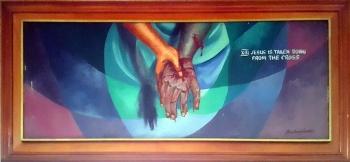 1997 Pancho Piano - Via Crucis XIII: Jesus is taken down from the Cross