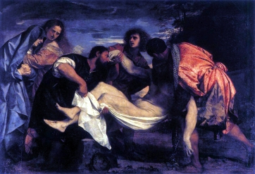 1526 Titian (Tiziano Vecelli, 1488-1576) - The Entombment of Christ