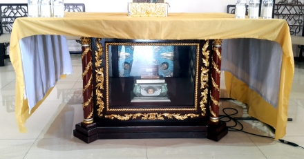 Altar & Relic of the Santa Maria degli Angeli, Portiuncula