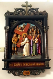 Via Crusis VIII Jesus speaks to the Women of Jerusalem
