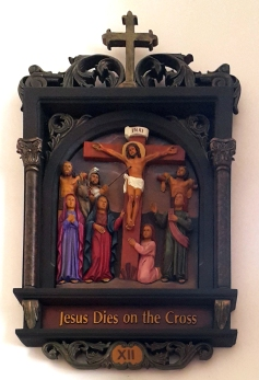 Via Crusis XII Jesus dies on the Cross