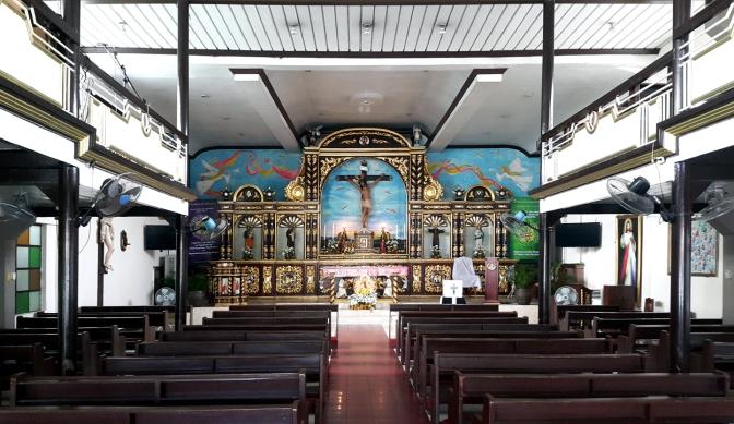 1997 San Jose Ang Tagapagtanggol, Altar & Nave