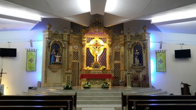 1960s-2003 Holy Family Parish, Altar