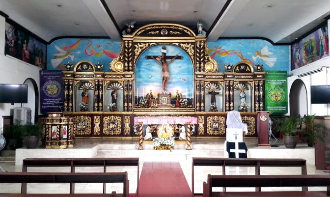 2010 San Jose Ang Tagapagtanggol, Altar
