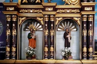 2010 Altar Left, St. Joseph & St. Anthony of Padua