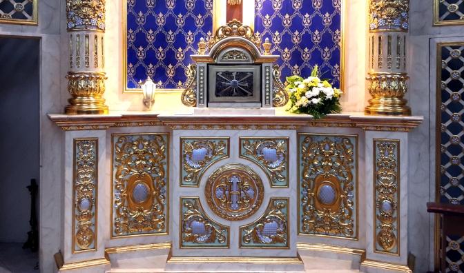05 1960s-2003 Holy Family Parish, Altar Base