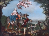 1601 Joachim Anthonisz. Wtewael (1566-1638) - The Flight into Egypt