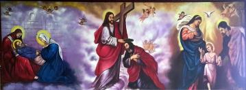 2010 Romeo Monte - Death of St. Joseph, Coronation of St. Joseph, & Sagrada Familia