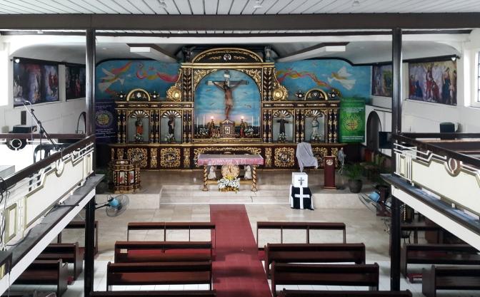 13 1997 San Jose Ang Tagapagtanggol, Altar & Nave