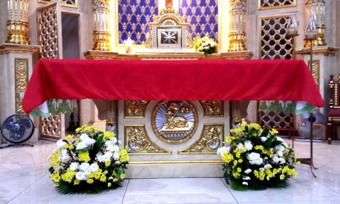 1960s-2003 Holy Family Parish, Altar Table