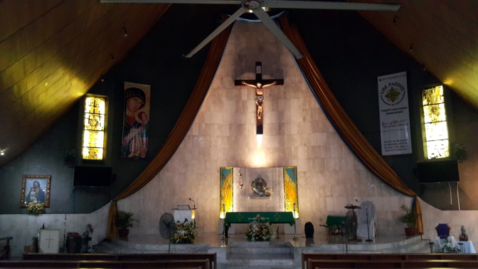1966 Our Lady of Perpetual Help Parish Church, Altar & Nave