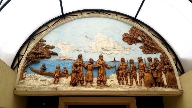 Hall, 1606 Fray Juan de San Jerónimo & Fr. Rodrigo de San Miguel arrive in Cebu