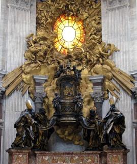 1666 Gian Lorenzo Bernini (1598-1680) - Cathedra Petri