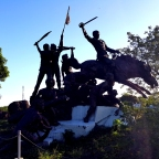 Tandang Sora Avenue, Quezon City: Lessons in Philippine History through Sculpture, at the Himlayang Pilipino Memorial Park