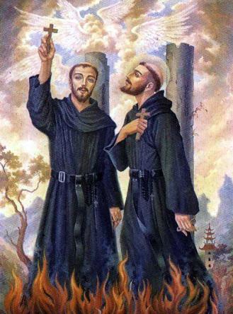Beatos Martín de San Nicolás y Melchor de San Agustín