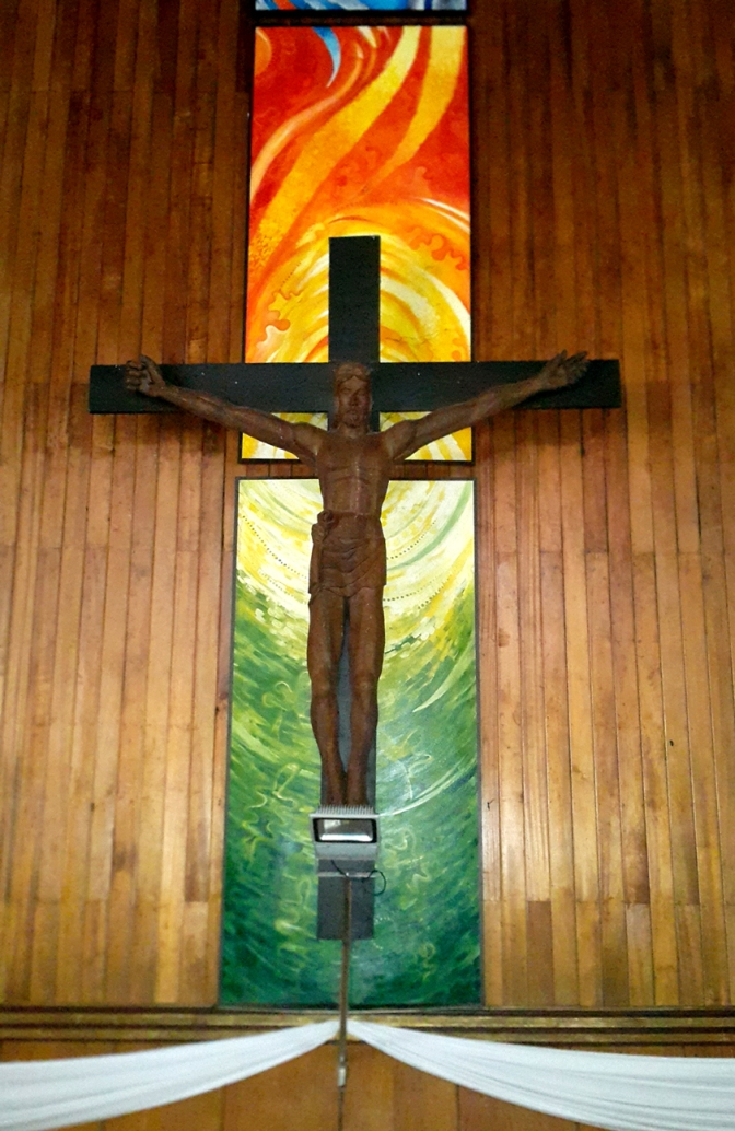 1987 Napoleon Abueva - The Resurrected Christ, Altar