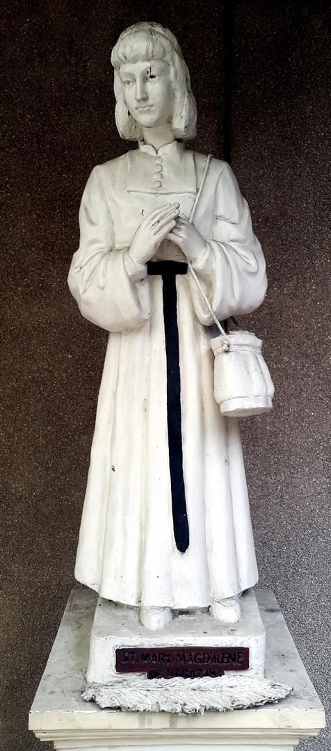 Upper Patio: St. Mary Magdalene of Nagasaki (1611-1634)