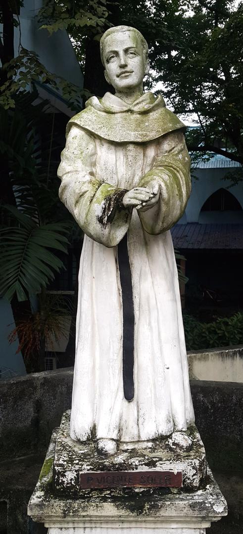 Upper Patio: Blessed Vicente Soler Munárriz (1867-1936)