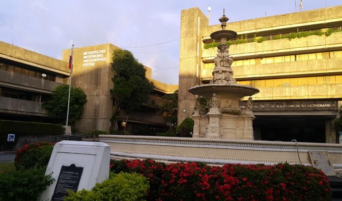 1990s Napoleon Abueva - Francisco Carriedo Fountain Replica, MWSS Compound