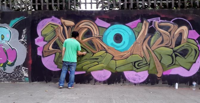 2017 U.P. Katipunan-C.P. Garcia/Tandang Sora Avenue Street Art