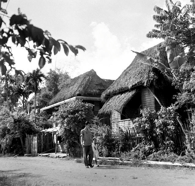 Antique Street in the 1950s, Barrio Bago Bantay