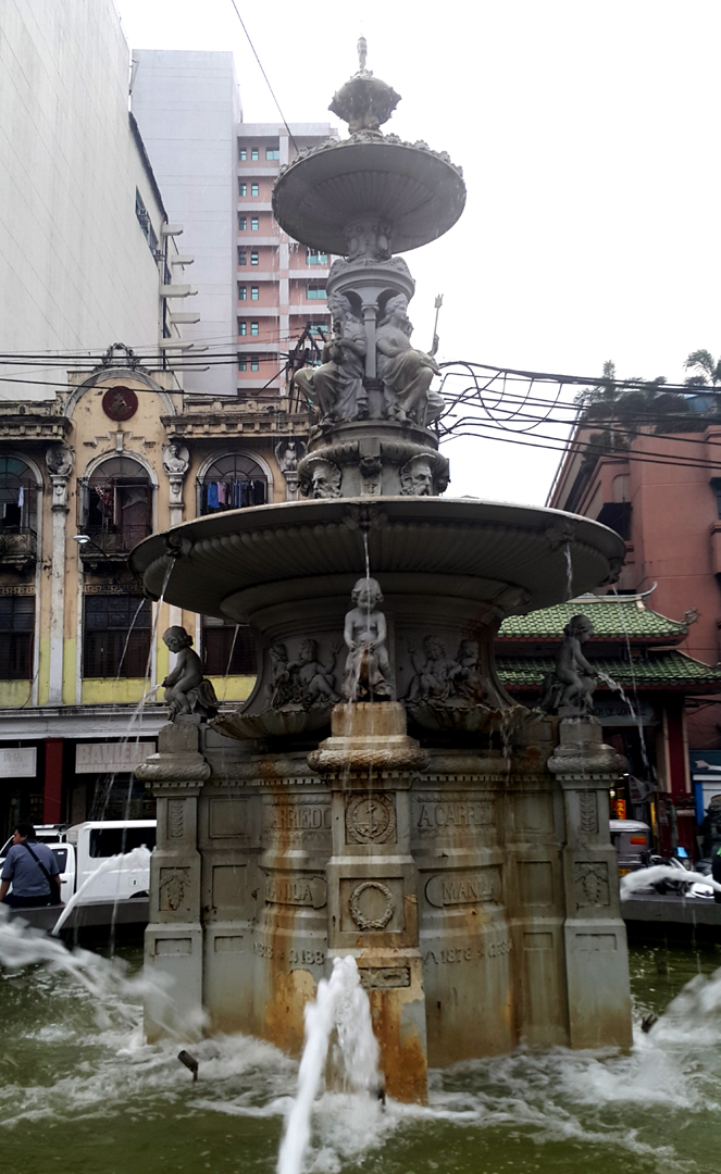 1882 Francisco Carriedo Fountain, Plaza Sta. Cruz, Manila