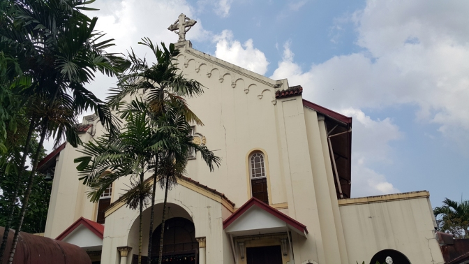 1936-41 San Jose Seminary Chapel, Seminary Road, Quezon City