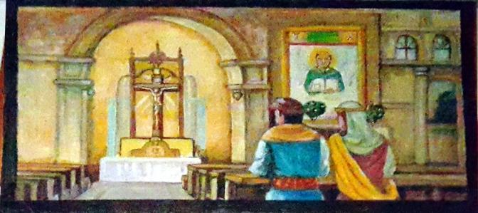 2008 Roget Bactong - San Nicolás de Tolentino's Parents Pray to St. Nicolas of Myra