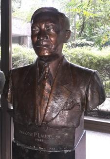 1943-1945 Pres. Jose P. Laurel Sr. by Fermin Yadao Gomez (1958)