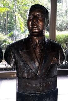 1948-1953 Pres. Elpidio Quirino by Fermin Yadao Gomez (1958)
