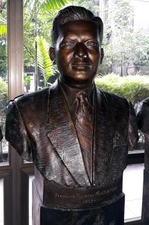 1953-1957 Pres. Ramon Magsaysay by Fermin Yadao Gomez (1957)