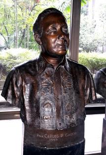 1957-1961 Pres. Carlos P. Garcia by Fermin Yadao Gomez (1958)